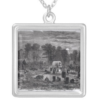 Blenker's Brigade Silver Plated Necklace