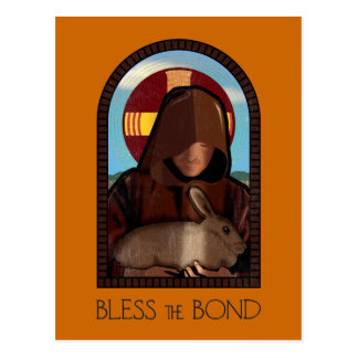 BLESS THE BOND POSTCARD
