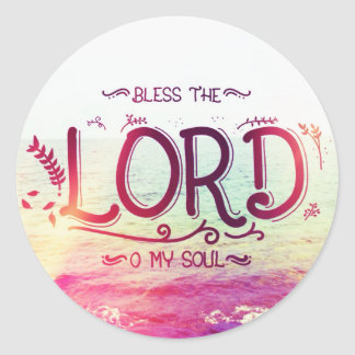 Bless The Lord Sticker