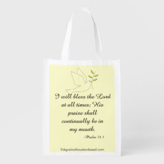 Bless The Lord Market Tote