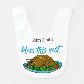 Bless This Nest Family Thanksgiving Bib