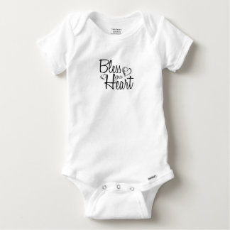 Bless Your Heart Baby Onesie