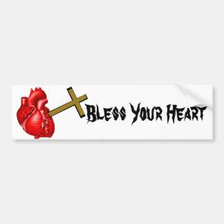 Bless Your Heart Bumper Sticker