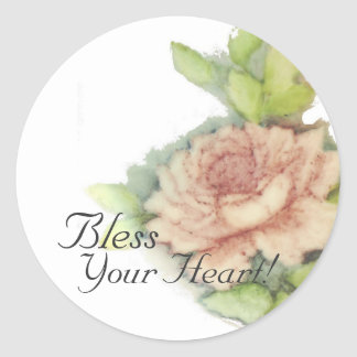 Bless Your Heart! Sticker-Cust.