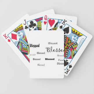 Blessed11 Bicycle Playing Cards