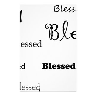 Blessed11 Stationery