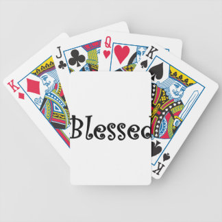 Blessed2 Bicycle Playing Cards