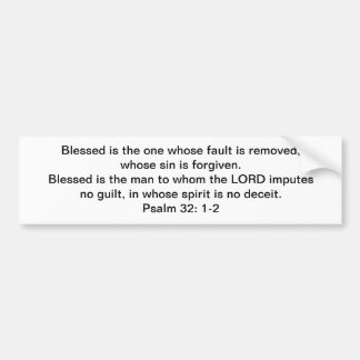 Blessed and FREE! Bumper Sticker