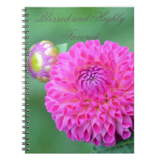 Blessed And Highly Favored Spiral Notebook