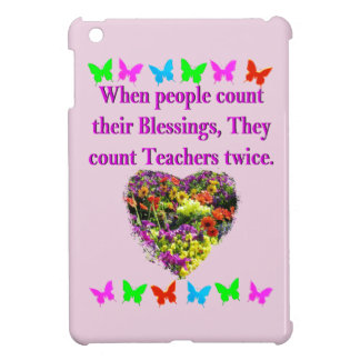 BLESSED AND INSPIRING TEACHER DESIGN iPad MINI CASE