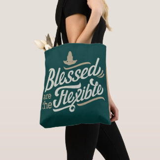 Blessed are the Flexible Tote Bag