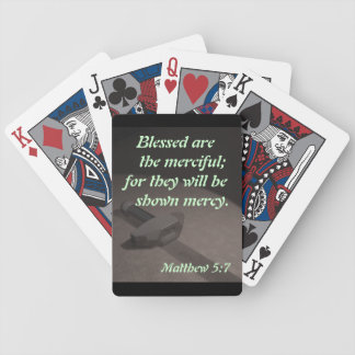 Blessed are the Merciful; ... Poker Deck