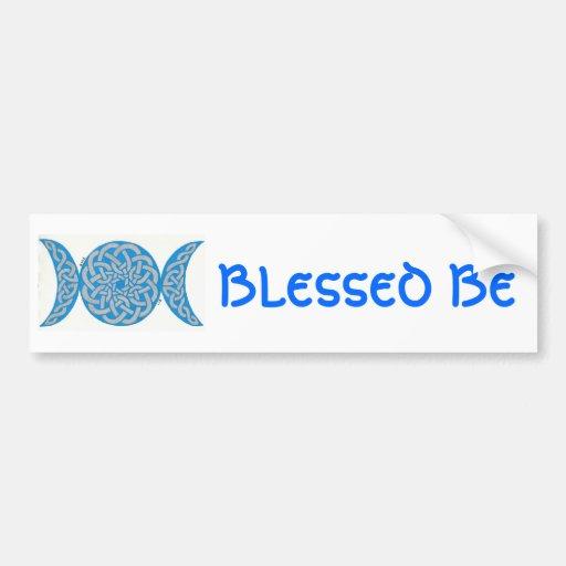 Blessed Be Bumpersticker Car Bumper Sticker
