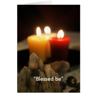 """""""Blessed be"""" Card"""