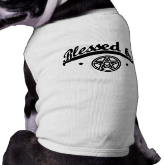 """""""Blessed Be"""" Dog Tee"""