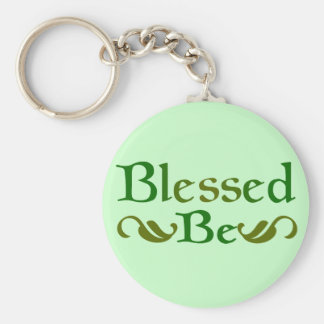 Blessed Be Key Ring