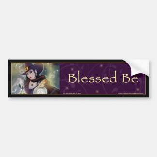 Blessed Be  - Witch Bumper Sticker