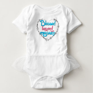Blessed beyond measure baby bodysuit