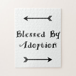 Blessed by Adoption - Foster Care Jigsaw Puzzle