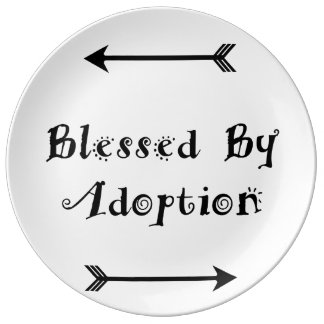 Blessed by Adoption - Foster Care Plate