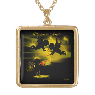 BLESSED BY ANGELS MATCHING PENDANT NECKLACE - LIVZ