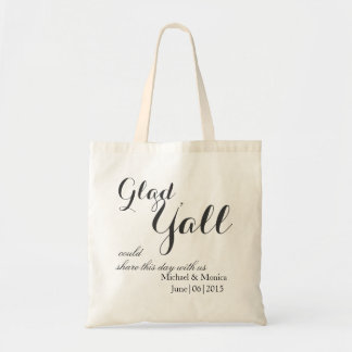 Blessed Custom Wedding Hotel Gift Tote Favor Budget Tote Bag