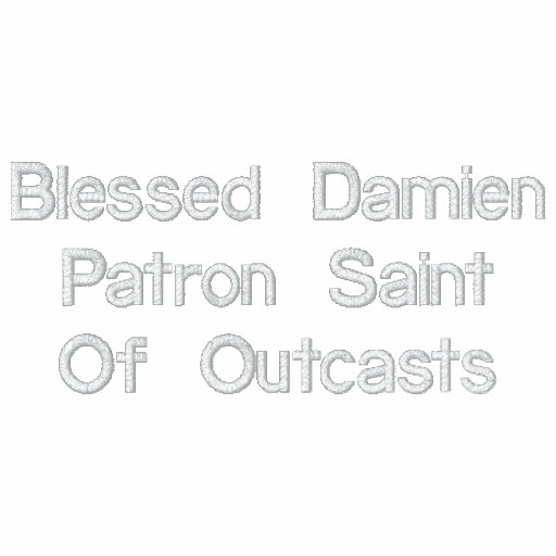 Blessed Damien Patron Saint Of Outcasts Hoody