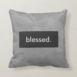 blessed. Full Print Customizable Cushion