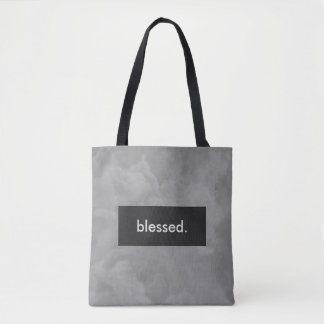 blessed. Full Print Customizable Tote Bag