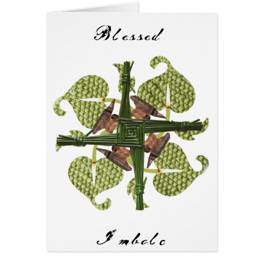 Blessed Imbolc Greeting Cards