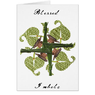 Blessed Imbolc Greeting Card