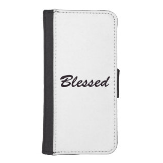 Blessed iPhone SE/5/5s Wallet Case