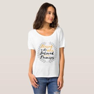 Blessed is she Luke 1:45 T-Shirt