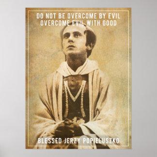 Blessed Jerzy Popiełuszko Poster