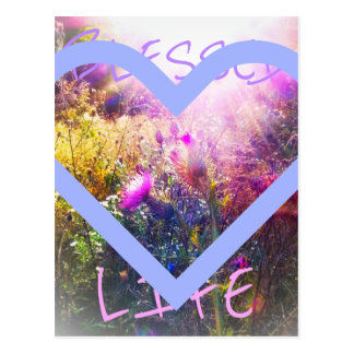 Blessed Life postcard
