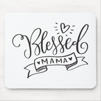 Blessed Mama Mouse Pad