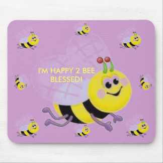 BLESSED! MOUSE PAD