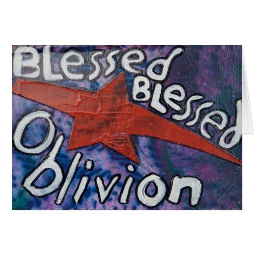 Blessed Oblivion Card