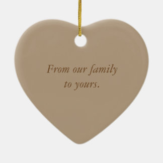Blessed Ornament Family Inspirational