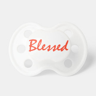 BLESSED PACIFIER