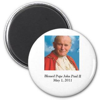 Blessed Pope John Paul II Fridge Magnet