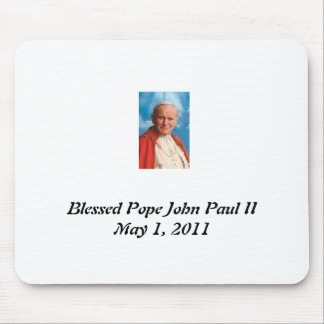 Blessed Pope John Paul II Mouse Pad