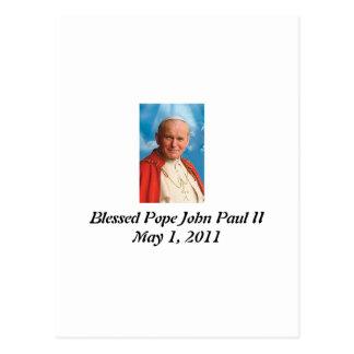 Blessed Pope John Paul II Postcard