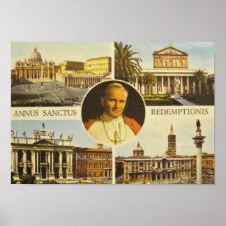 Blessed Pope John Paul II Poster