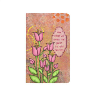 Blessed Positive Thought Doodle Flower Journal