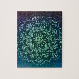 Blessed Rain Mandala Puzzle