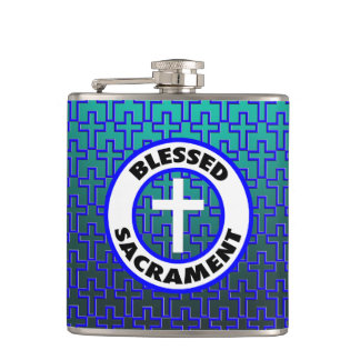 Blessed Sacrament Hip Flask