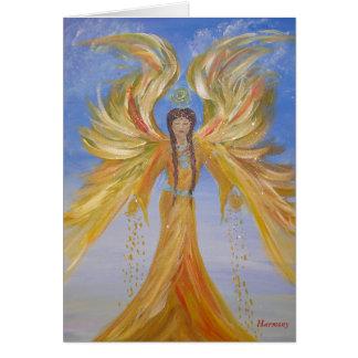 Blessed Seraphim Angel Card