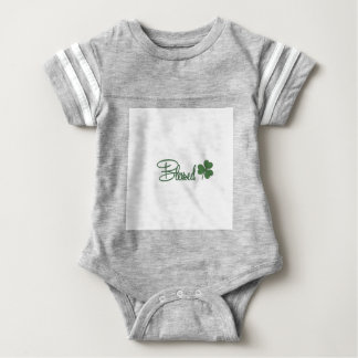 Blessed St. Patrick's Day Design ☘ Baby Bodysuit