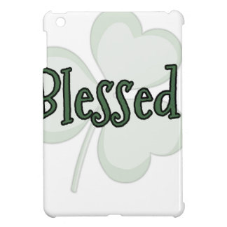 Blessed St. Patrick's Day Design iPad Mini Cases